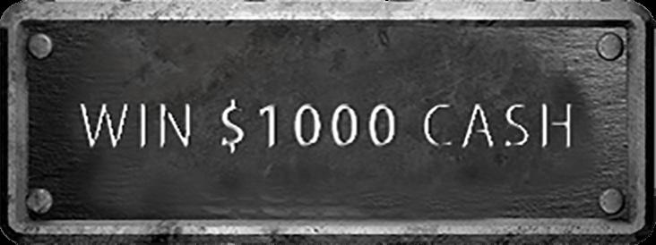 Win $1000 cash